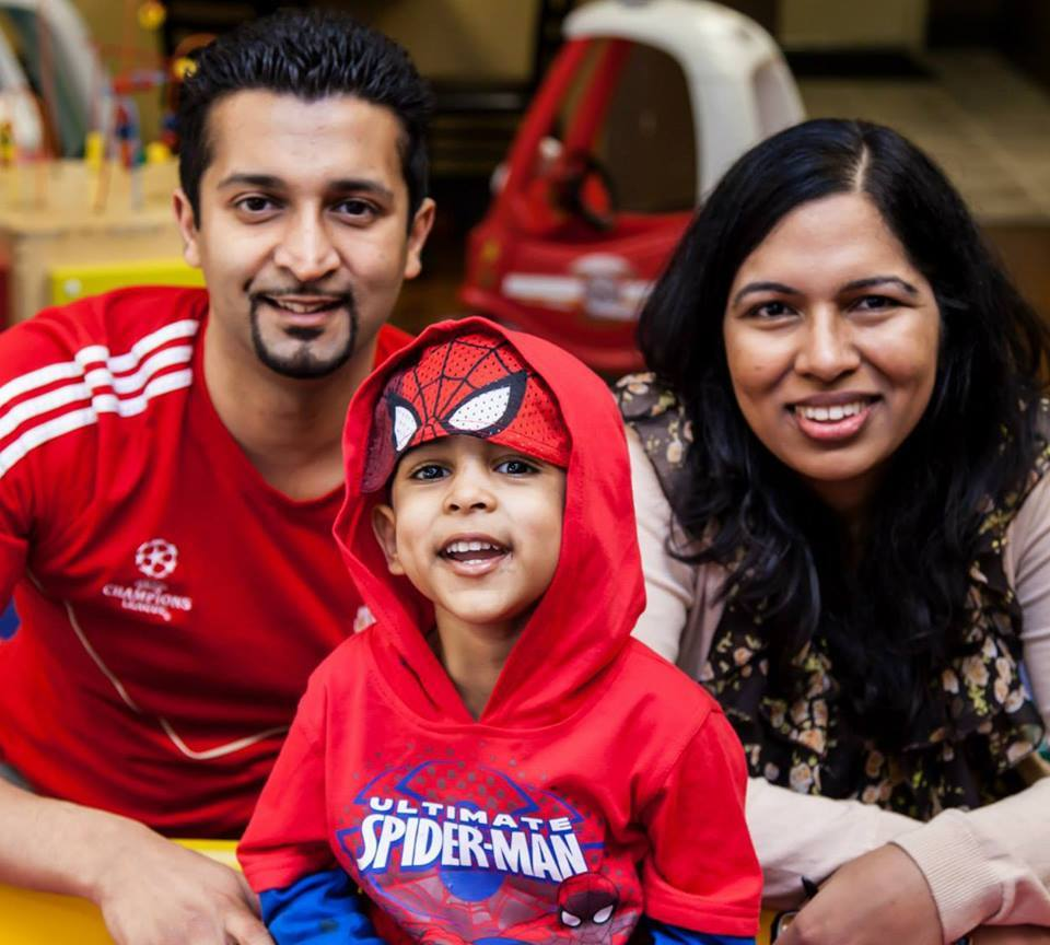 Aaryan's Journey with Leukemia